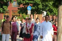 Spaziergang mit Guru Ji Mai 2017