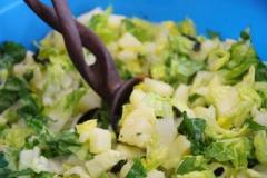 Vegetarisches Sonntagsessen - Salat